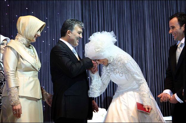 عروسی کبری دختر عبدالله گل رئیس جمهور ترکیه